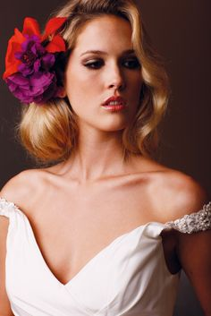 Beautiful and soft wedding hair by WASP | Perth Bride