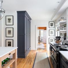 Fabulous narrow freestanding kitchen pantry cabinet for your home Home Design, Interior Design, Blog Design, Built In Pantry, Wall Pantry, Kitchen Built Ins, Built In Hutch, Renovated Kitchen, Classic Kitchen