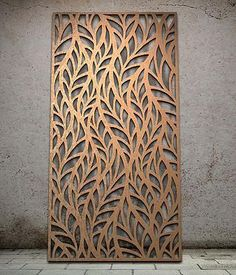 bronze laser cutting stainless steel sheet for interior decoration.