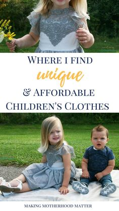 As a parent, it's not always easy to find unique and affordable children's clothes. I enjoy dressing my kids in one-of-a-kind pieces that make them stand out and won't break the bank. Click the link discover where I shop and to take a peek at the unique and affordable children's clothes I selected. +Enter to win a $25 gift card
