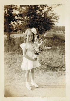Judy with a bouquet | Flickr - Photo Sharing!