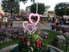 Valentine's at Disneyland - picture by James Johnston