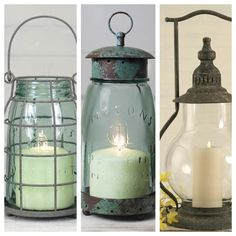 New rustic home accents for Spring!