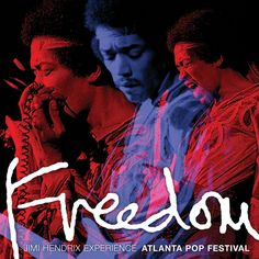 Jimi Hendrix - Experience Freedom: Atlanta Pop Festival on Numbered Limited Edition 200g 2LP