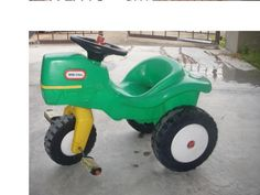 Little Tykes Tractor. Sam could ride it when Papa is on his! Toys For Tots, Kids Toys, Grandchildren, Grandkids, Outdoor Toys For Kids, Little Tykes, My Past Life, Kids Growing Up, Fun Time