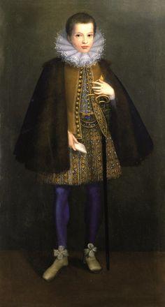 Lavinia Fontana, Ritratto di fanciullo, 1590 circa