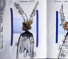 Julien d'Ys's S/S15 scrapbook Comme des Garçons S/S15