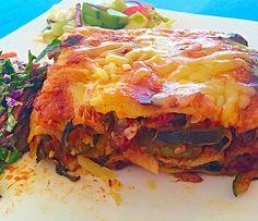 Low FODMAP Vegetarian Lasagna recipe: Try this Low FODMAP Vegetarian Lasagna recipe, or contribute your own. Vegetarian Lasagna Recipe, Vegetarian Recipes Dinner, Dinner Recipes, Healthy Recipes, Low Fodmap Vegetables, Fodmap Recipes, Fodmap Diet, Vegetable Recipes