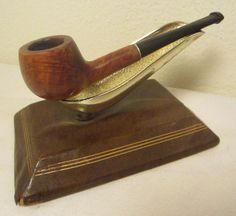 Vintage Junior Sportsman Apple Style Briar Estate Tobacco Smoking Pocket Pipe