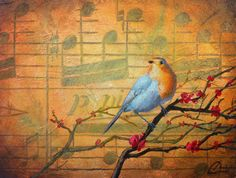 """Robin's Song"" by Christopher Clark"
