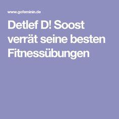 Detlef D! Soost verrät seine besten Fitnessübungen