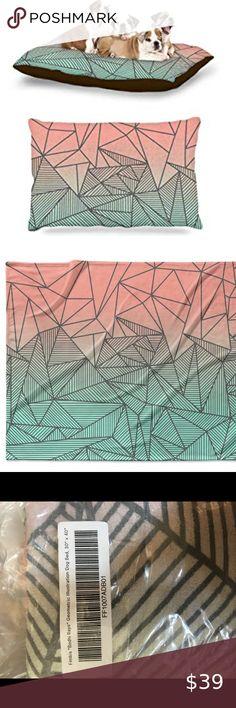 40 x 30 KESS InHouse Miranda Mol Triangle Illusion Multicolor Geometric Fleece Baby Blanket