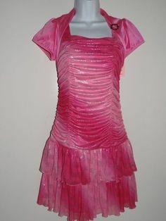Girl's Amy's Closet Pink Dress Size 14.5,16.5, 18.5, & 20.5 Plus MSRP $60.00 #AmysCloset #Everyday