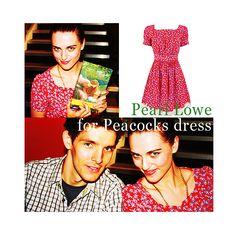 Katie McGrath - Pearl Lowe for Peacocks dress