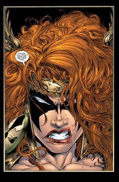 Angela in Spawn Comic Book Artists, Comic Book Characters, Marvel Characters, Comic Artist, Marvel Heroes, Comic Character, Comic Books Art, Female Characters, Marvel Women