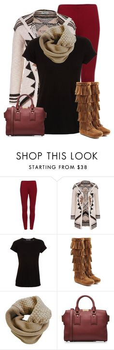 """Fringe Boots (OUTFIT ONLY!)"" by cindycook10 ❤ liked on Polyvore featuring maurices, Vince, Minnetonka, Humble Chic, Burberry, women's clothing, women's fashion, women, female and woman"