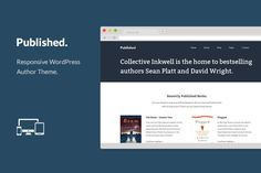 Free for the week!  Published - WordPress Author Theme by OriginalThemes on Creative Market