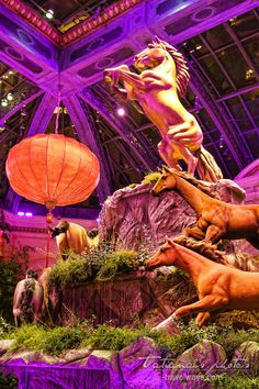 Celebrating the Chinese Year of the Horse in Las Vegas, 2014