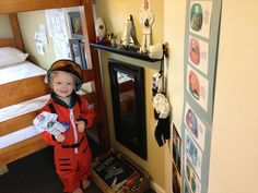 You learn a lot about space and astronauts so that you can hang out with your kid.