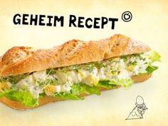 Broodje eiersalade