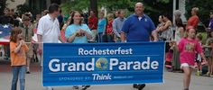 Rochesterfest Parade celebrating all that Rochester, MN has to offer!
