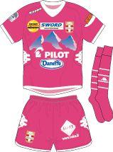 Evian GT of France 3rd kit for 2012-13.