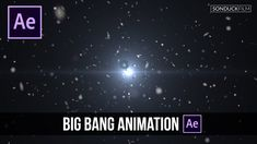 After Effects Tutorial: Big Bang Animation with Galaxies