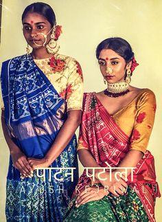 Patan patola saree by Ayush Kejriwal For purchases email me at designerayushkejriwal@hotmail.com or what's app me on 00447840384707 We ship WORLDWIDE. Indian Silk Sarees, Indian Beauty Saree, Om Namah Shivaya, Indian Attire, Indian Wear, Churidar, Anarkali, Lehenga, Indian Dresses