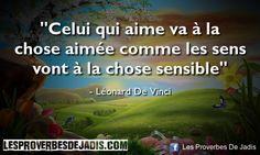 Léonard De Vinci Celui qui aime