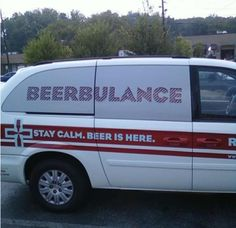 help I've fallen and need a beerbulance on the double before I sober up.