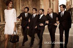 The Dolce & Gabanna FW 2013 Man shot by Mariano Vivanco