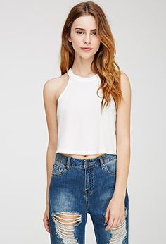 Boxy Halter Tank | Forever 21 | #thelatest