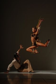 Yulia Zagoruychenko + Maxim Kozhevnikov. Saw this show in person! :)