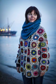 my #beiroa jacket : picture by diário de lisboa. Crochet by @inmypocket