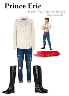"""Prince Eric"" by bforbel ❤ liked on Polyvore featuring Siwy, Great Plains, VILA, Tory Burch and Alexander McQueen"