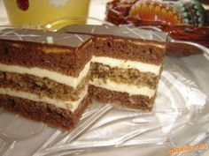 VIEDENSKE KOCKY Cake Bars, Homemade Cakes, Nutella, Tiramisu, Cooking Recipes, Cupcakes, Sweets, Baking, Ethnic Recipes