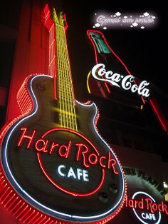 Hard Rock Cafe at Universal Studios in Osaka, Japan by Apenas Un Sonho