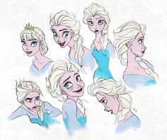 Queen Elsa - Frozen ❄️