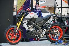 Yamaha All New - motor spike - Motorrad Yamaha Fzs Fi, Yamaha Motorcycles, Custom Motorcycles, Mt Bike, Bike Pic, Motorcycle Bike, Mt 15, Motorcycle Wallpaper, Cartoon Wallpaper Hd