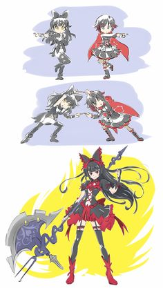 When Weiss and Yang are kidnapped by Salem, Ruby and Blake have no choice but to unleash their ultimate technique [Mojojoj] : RWBY Rwby Fanart, Rwby Anime, Anime Meme, Rwby Blake, Yandere, Red Like Roses, Rwby Memes, Rwby Red, Rwby Comic