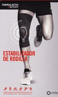 ¿Tienes  #ProblemasDeRodilla? Con el Estabilizador de rodilla Farmalastic Sport podrás realizar cualquier actividad física que requiera movimientos uni- y multidireccionales. Es la mejor solución para evitar molestias, dolores y futuras lesiones. http://www.farmaciaherbolario.com/estabilizador-de-rodilla-farmalastic-sport-talla-l.html