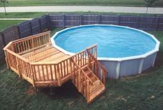 Popular Above Ground Pool Deck Ideas. This is just for you who has a Above Ground Pool in the house. Having a Above Ground Pool in a house is a great idea. Tag: a budget small yards Pool Bar, My Pool, Above Ground Pool Landscaping, Small Backyard Pools, Deck Landscaping, Small Backyards, Small Patio, Pool Deck Plans, Pergola Plans