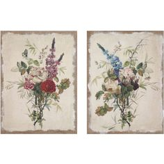 Floral Wall Art | Flower Wall Decor | Floral Pictures