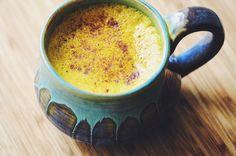 Mama's Spicy Golden Milk (Turmeric Tea) + 20 Health Benefits