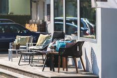Gartenmöbel von Kettal. Ausstellung Abitare Stans. Outdoor Furniture Sets, Outdoor Decor, Events, Home Decor, Room Interior Design, Interior Designing, Garden Furniture Sets, Interior, Haus