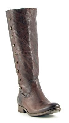 Womens Frye Melissa Boots Dark Brown #76496dbn