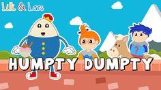 HUMPTY DUMPTY SAT ON A WALL  song lyrics | nursery rhymes for children h...