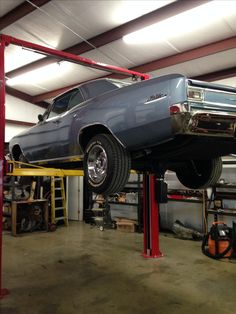 '66 Chevelle we worked.