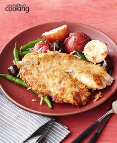 Crispy Bistro Fish Dinner #recipe