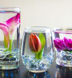 DIY submerged flower arrangements // Vízbe merített virágok - különleges tavaszi dekoráció // Mindy - craft tutorial collection // #crafts #DIY #craftTutorial #tutorial #FlowerCrafts #FlowerDecor